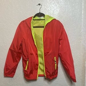 Other - NEW Amcupider  big boys jacket red and neon green